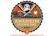 Anaheim Ducks Day Return To Disney California Adventure
