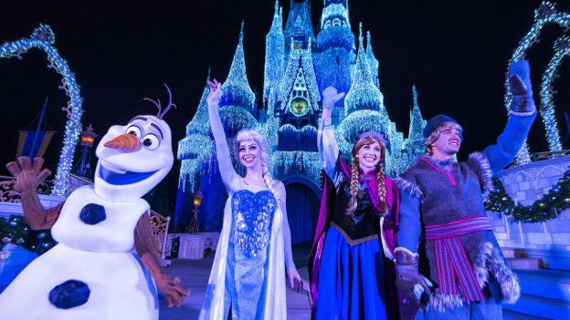 See the First 'A Frozen Holiday Wish' Castle Lighting of the Season on Nov. 3rd LIVE