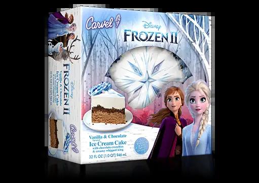 frozen 2 ice cream cake