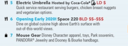 New Epcot Restaurant, Space 220, Will Serve Breakfast, Lunch, and Dinner 2