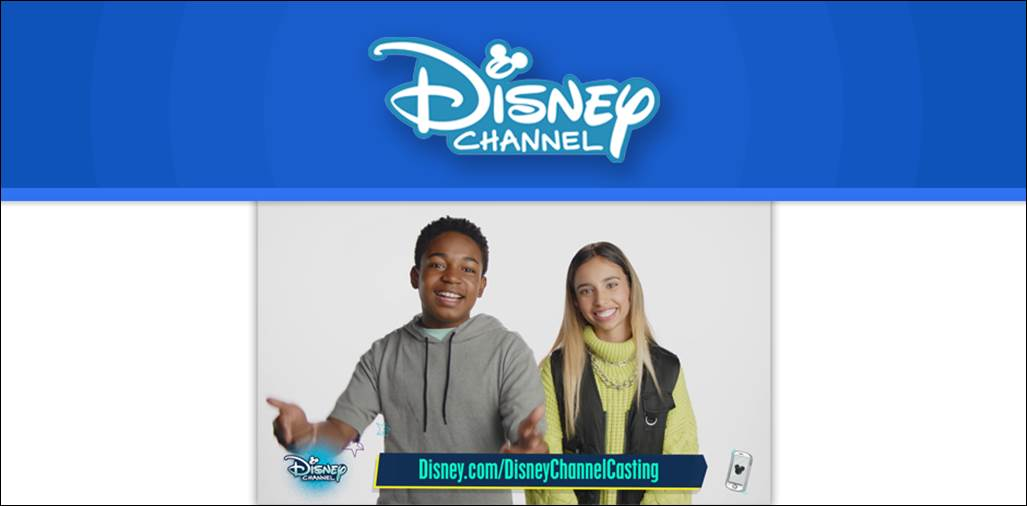 Disney Channel has Launched a Digital Open Casting Call