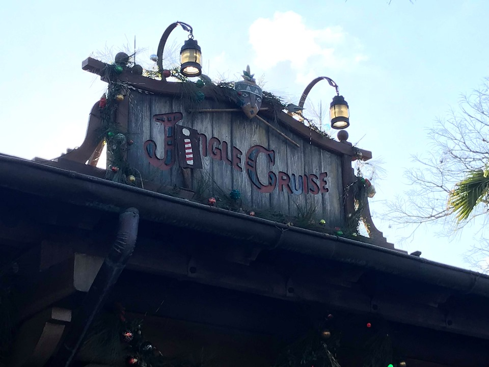 The Jingle Cruise is Back at the Magic Kingdom for the Holidays