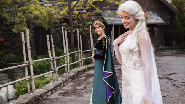 Anna and Elsa Look Especially Royal in Their 'Frozen II' Inspired Dresses at Epcot