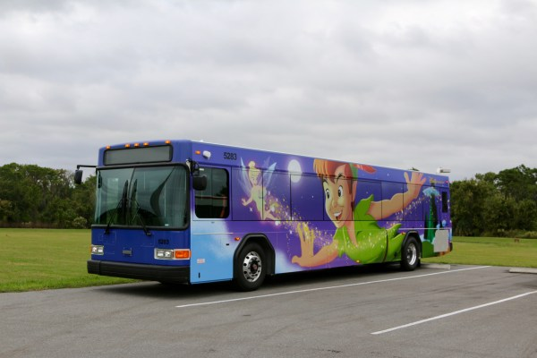 Two New Disney Character Buses Spotted at Walt Disney World 3