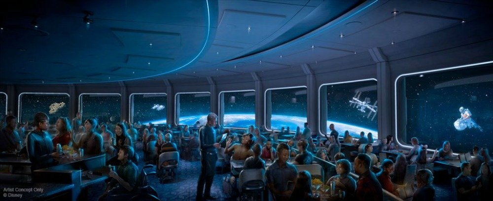 New Epcot Restaurant, Space 220, Will Serve Breakfast, Lunch, and Dinner