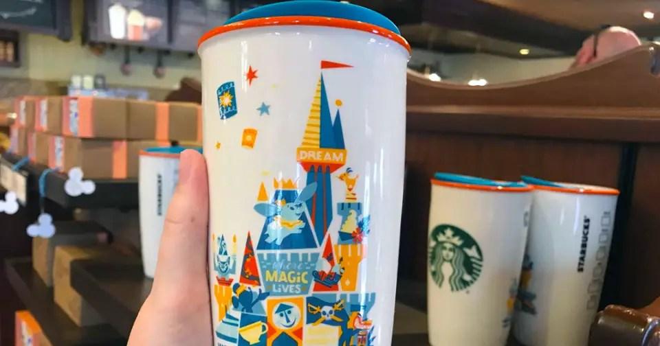 New Magic Kingdom Starbucks Mug Has Arrived At The Disney Parks