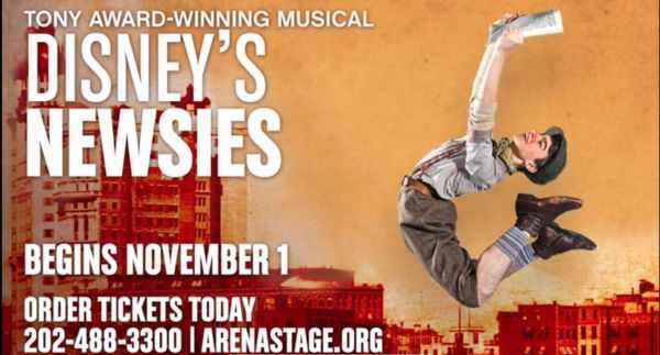 INTERVIEW: With Chaz Wolcott from Disney's NEWSIES, Presented by: Arena Stage 1