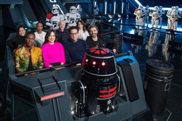 'The Rise of Skywalker' Cast Visited New 'Star Wars: Rise of the Resistance' Attraction in Disneyland 4
