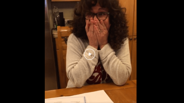 Mom surprised with trip to Disneyland by way of Crossword puzzle 1