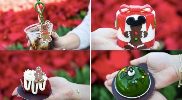 Holiday Treats at Amorette's Patisserie in Disney Springs
