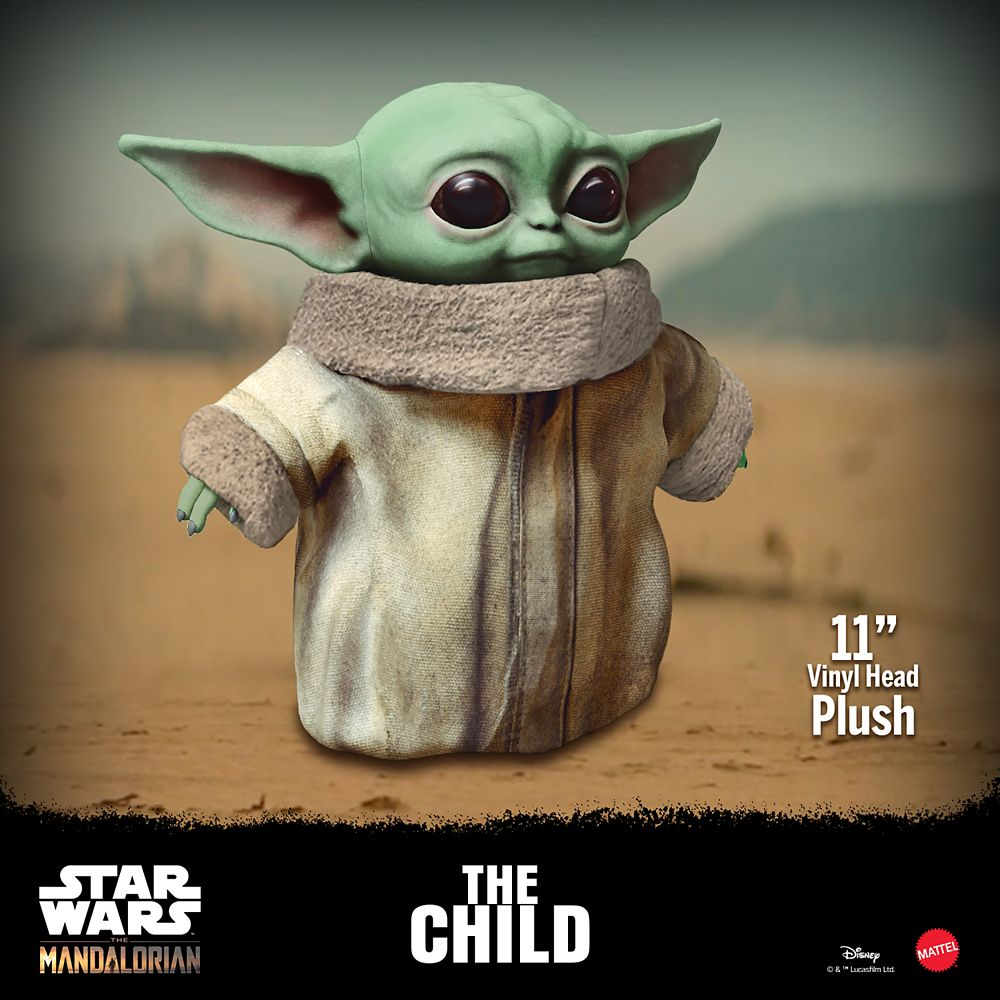Baby Yoda Plush Arriving With Cuteness This Spring 2