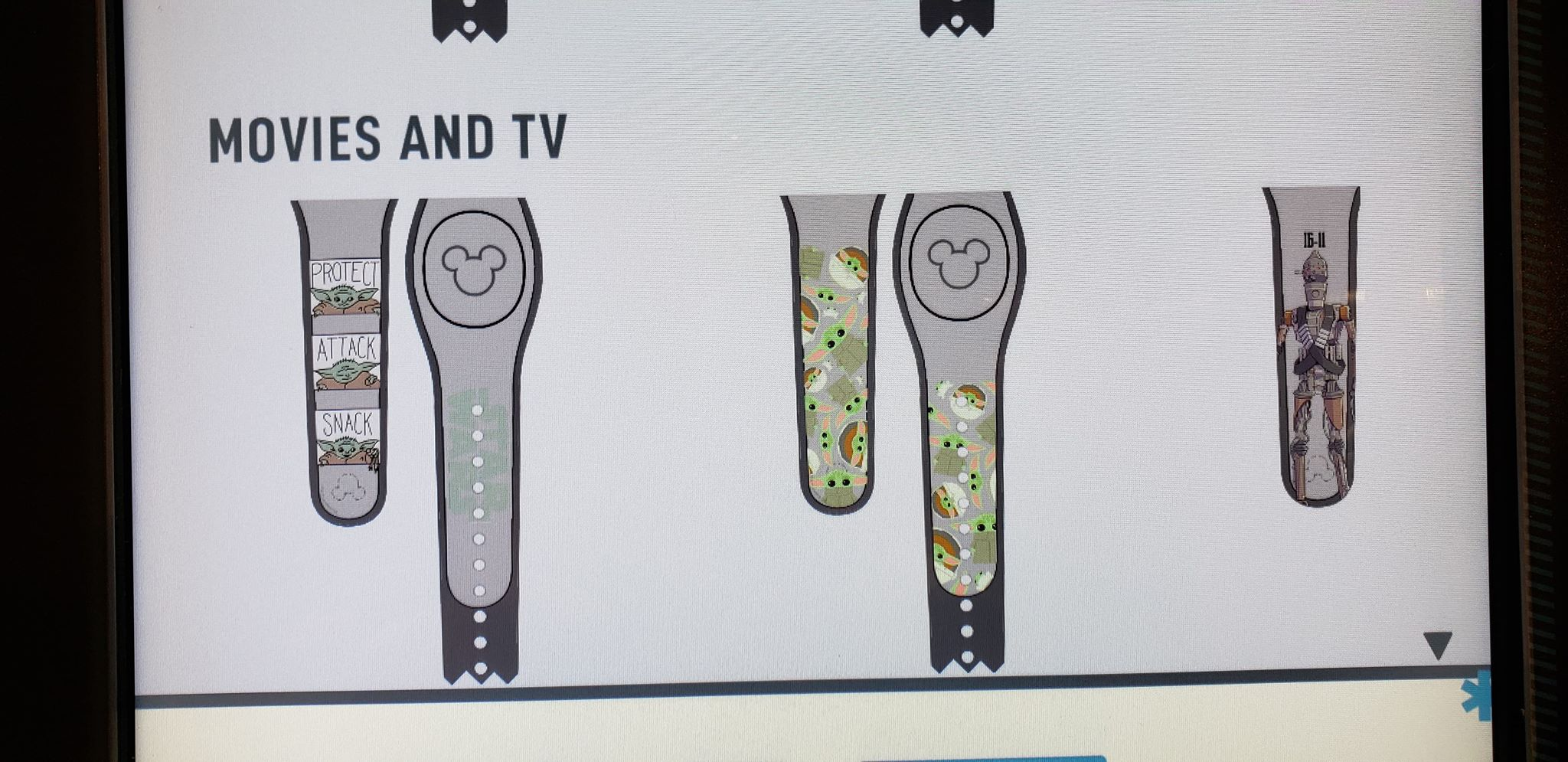 New Baby Yoda MagicBands, Phone Cases, And Magnets At D-Tech 2