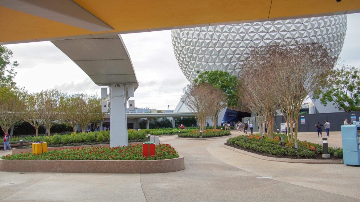 First Phase of Epcot's Entrance Complete