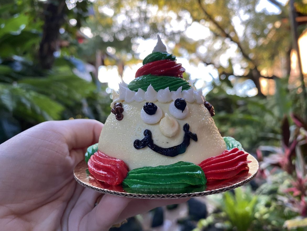 The New Elf Dome Cake At Walt Disney World Is Adorably Festive