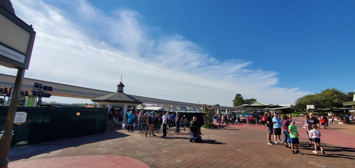 Photo Update: Magic Kingdom Entrance Construction Progresses Smoothly