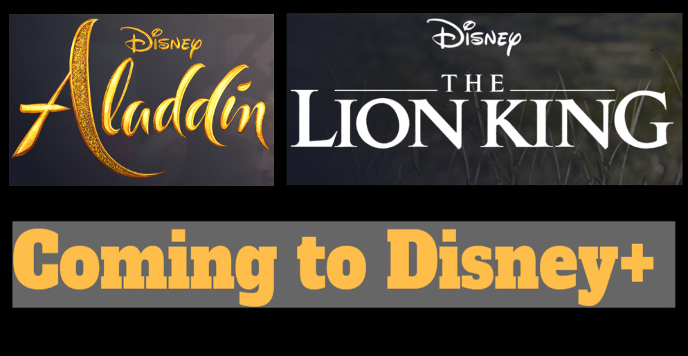 Live-Action 'Aladdin' and 'The Lion King' Coming Soon to Disney+