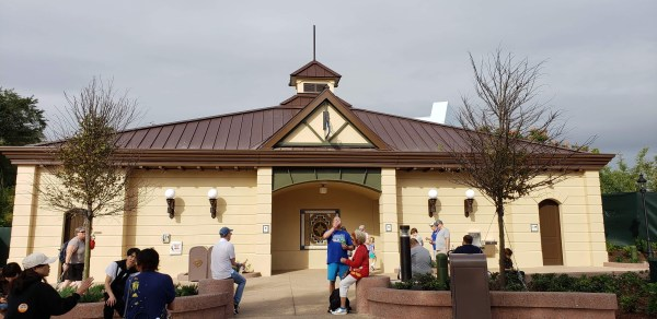 New Restrooms Epcot