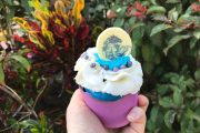 Frozen II Water Spirit Cupcake
