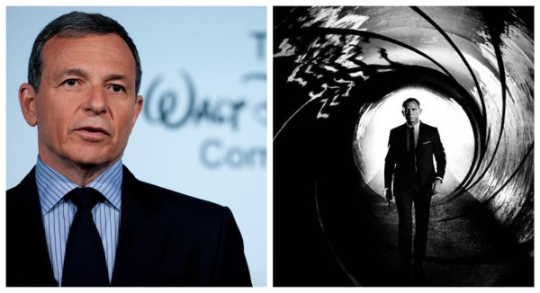 Bob Iger might have the James Bond franchise in his crosshairs 1