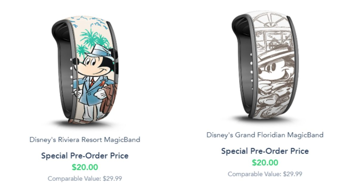 Two new Resort Themed Magic Bands are now available on My Disney Experience
