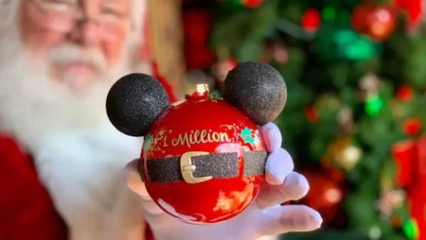 Disney Christmas Tree Trail Celebrates 1 Million Guests