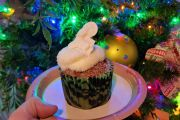 NEW Christmas Tree Cupcake At Animal Kingdom!