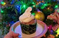 NEW Christmas Tree Cupcake At Animal Kingdom!