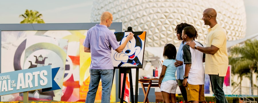 New Workshops Coming to Epcot's Festival of the Arts