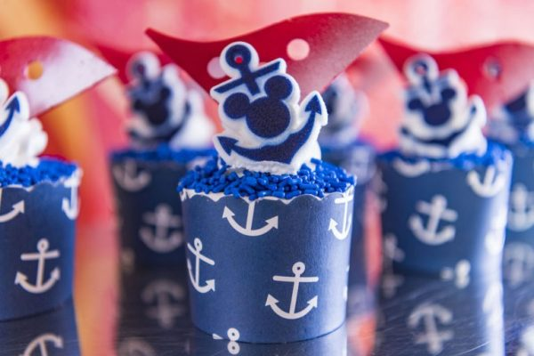 Disney Cruise Line Cupcakes