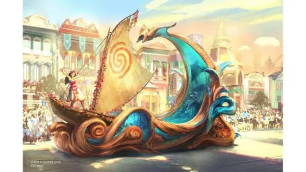Designing New 'Magic Happens' Parade Floats 1