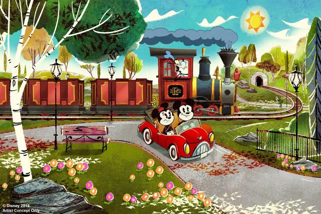 Mickey & Minnie's Runaway Railway Opening Date Announced!