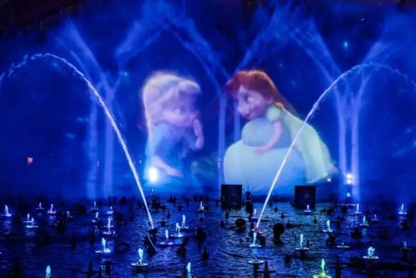 Frozen Experiences at Disneyland