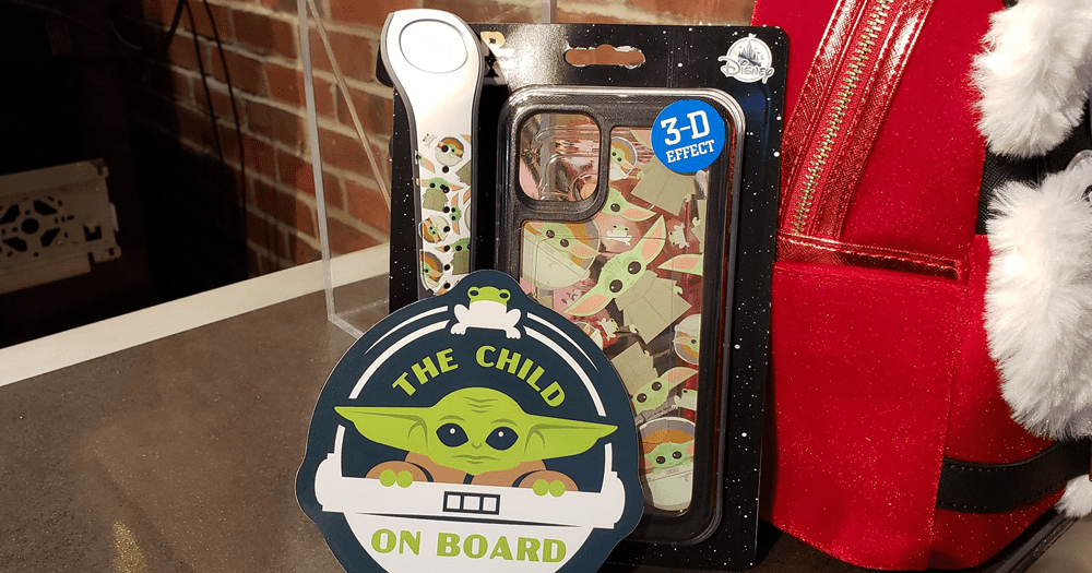 New Baby Yoda MagicBands, Phone Cases, And Magnets At D-Tech 1