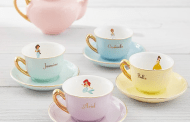 Pottery Barn's Disney Princess Tea Set is an absolute dream
