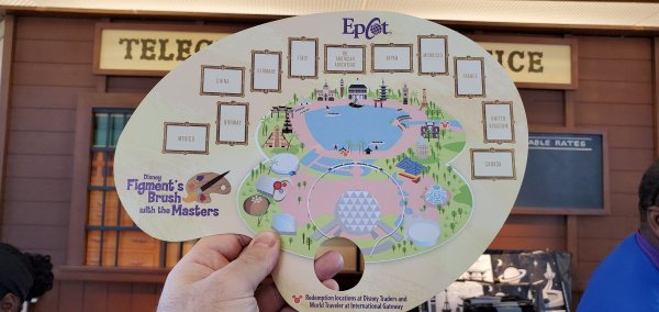2020 Epcot Festival of the Arts Figment's Brush with the Masters Scavenger Hunt 2