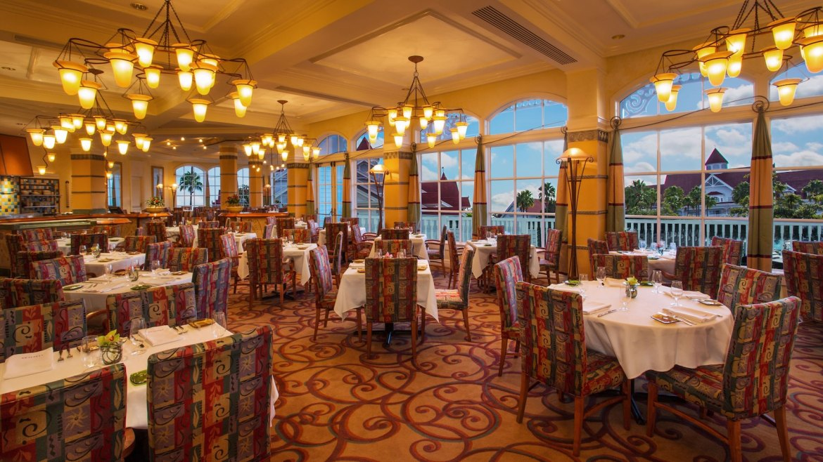Disney's Grand Floridian Citricos Restaurant is Getting a New Look