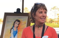 Beauty and the Beast's Paige O'Hara at Epcot's Festival of the Arts