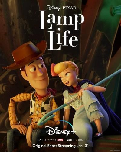 'Lamp Life' Short Film Set To Premiere on Disney+ January 31st 2