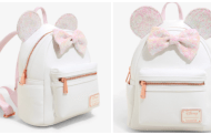 Sparkle In Style With The Iridescent Minnie Mouse Backpack By Loungefly
