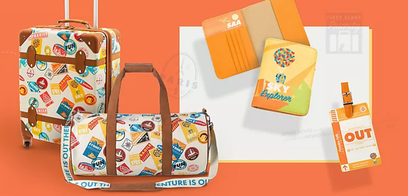 The Oh My Disney Pixar Travel Collection Will Take You Up, Up and Away!