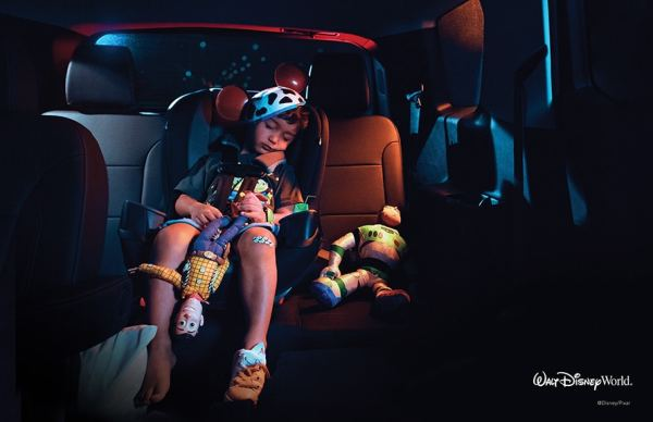 Disney World Print Ads Pull at Your Heartstrings Without Even Showing the Park 2