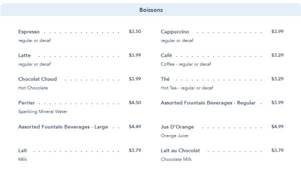 Les Halles Boulangerie and Patisserie in Epcot Updates Their Menu 6