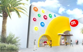 First Look at New M&M Store Coming to Disney Springs