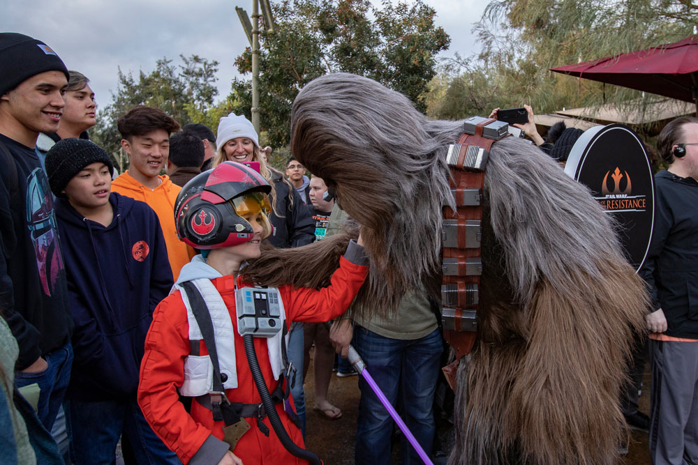 Star Wars: Rise of the Resistance is Now Open in Disneyland
