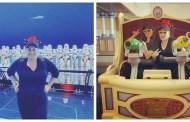 Actress Rebel Wilson Visits Disneyland