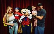 Jason Aldean and Family Visit Walt Disney World