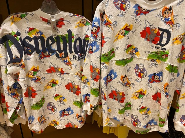 Disney's Ink and Paint Spirit Jersey Now At The Disney Parks 1