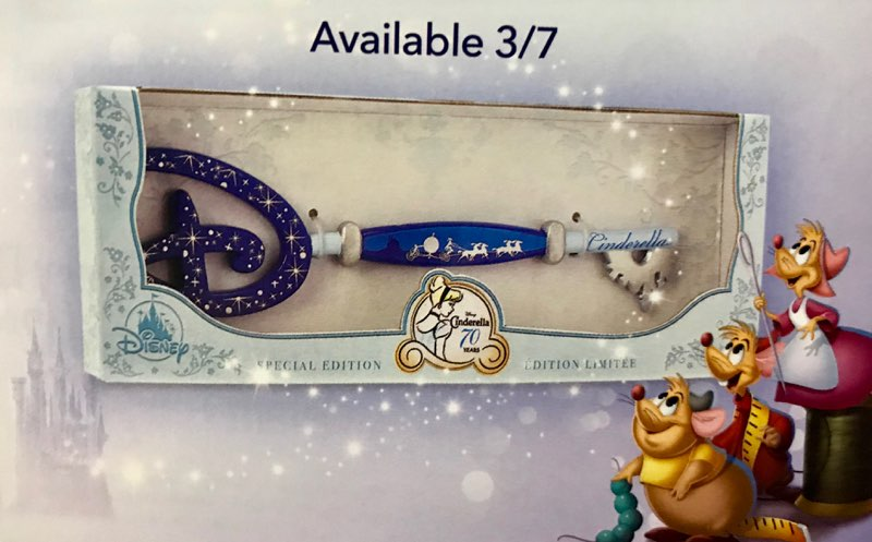 New Cinderella Collectible Key Is A Dream Come True