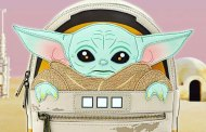 This super cute Baby Yoda Loungefly is coming this summer!