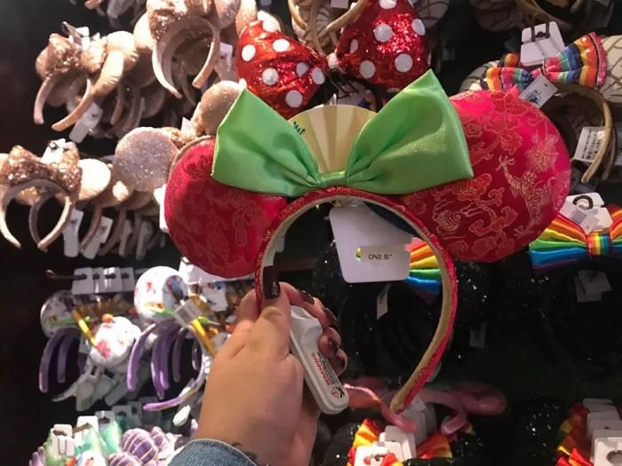 Mulan Minnie Ears